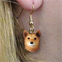 Finnish Spitz Earrings