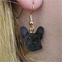 French Bulldog Earrings