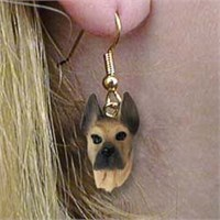 Great Dane Authentic Earrings