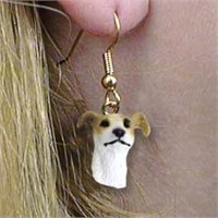 Greyhound Authentic Earrings