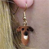 9017 Jewelry   Earrings: Italian Greyhound