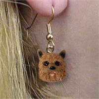 Norwich Terrier Earrings