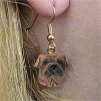 Shar Pei Earrings