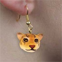 Jaguar Earrings