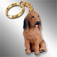 9143 Bloodhound Keychain