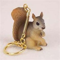 Red Squirrel Key Chain