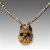 Brussels Griffon Necklace