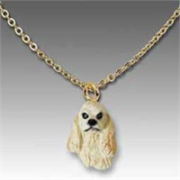 9360 Jewelry   Necklace: Cocker Spaniel