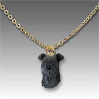 Kerry Blue Terrier Necklace