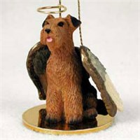 Airedale Terrier Ornament Angel