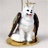 American Eskimo Dog Ornament