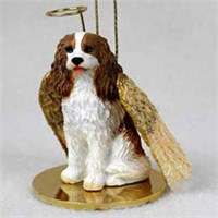 Cavalier King Charles Spaniel Christmas Ornament Angel