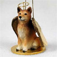 Finnish Spitz Christmas Ornament