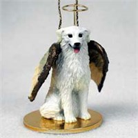 Kuvasz Christmas Ornament Angel