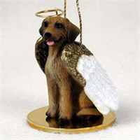 Rhodesian Ridgeback Christmas Ornament Angel