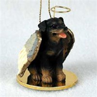 Rottweiler Christmas Ornament Angel