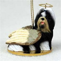 Shih Tzu Christmas Ornament Angel