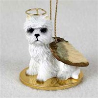 Westie Christmas Ornament Angel