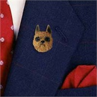 Brussels Griffon Pin