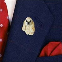 Cocker Spaniel Pin (Blonde)