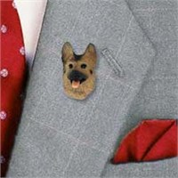 9684 German Shepherd Pin
