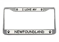Newfoundland License Plate Frame