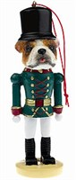 Bulldog Christmas Ornament Nutcracker