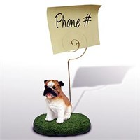 Bulldog Note Holder