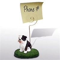 Bulldog Note Holder Brindle