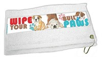 Bulldog Paw Wipe Towel