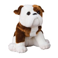 Bulldog Plush Stuffed Animal 16 Inch