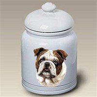 Bulldog Treat Jar