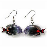 Achilles Tang Fish Earrings True to Life