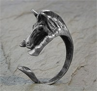 Image of Adjustable Wrap Horse Ring
