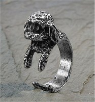 Poodle Adjustable Wrap Ring