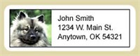 adlabkees Keeshond Address Labels