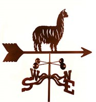 Alpaca Weathervane