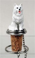American Eskimo Dog Bottle Stopper