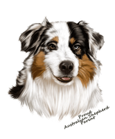 Australian Shepherd T Shirt - Proud Parent