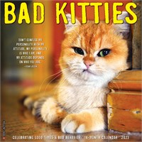 Bad Kitties Calendar 2019