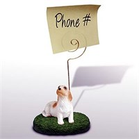 Basset Griffon Vendeen Note Holder