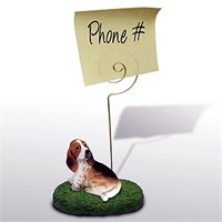 Basset Hound Note Holder