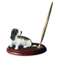 basset hound pen holder 13933 Basset Hound Pen Holder