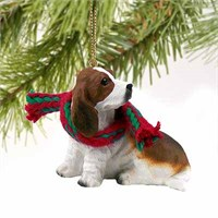 Basset Hound Tiny One Christmas Ornament