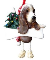 basset hound tree ornament 14409 Basset Hound Ornament
