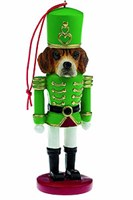 Beagle Christmas Ornament Nutcracker