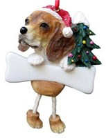 Beagle Christmas Ornament Tree Personalized