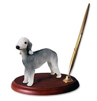 bedlington terrier pen holder 13936 Bedlington Terrier Pen Holder
