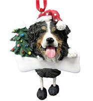 Bernese Mountain Dog Christmas Tree Ornament Personalized