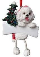 Bichon Frise Christmas Ornament Tree Personalized